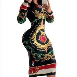 Dresses & Skirts - Bodycon Dress Midi Length